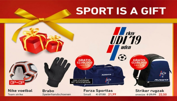 Intersport Superstore Uden heeft 'sport is a gift' voor UDI-leden