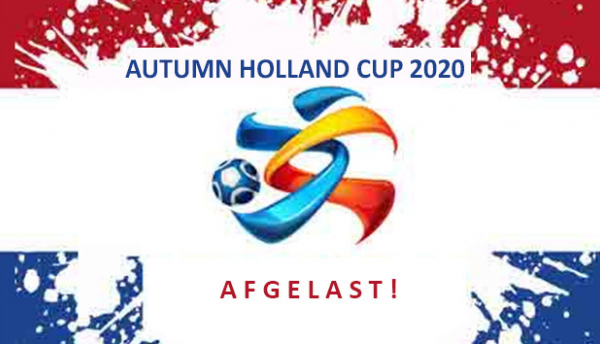 Autumn Holland Cup 2020 afgelast
