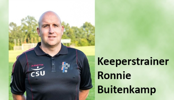 Ronnie Buitenkamp ook als keeperstrainer TOP Oss