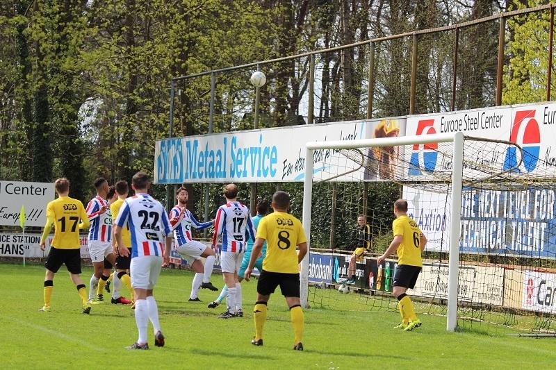 UDI krijgt te weinig in Halsteren (3-1)